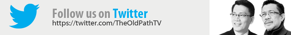 The Old Path Twitter account