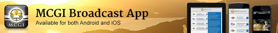 MCGI Broadcast App