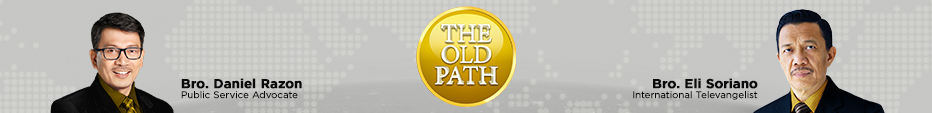 The Old Path Banner